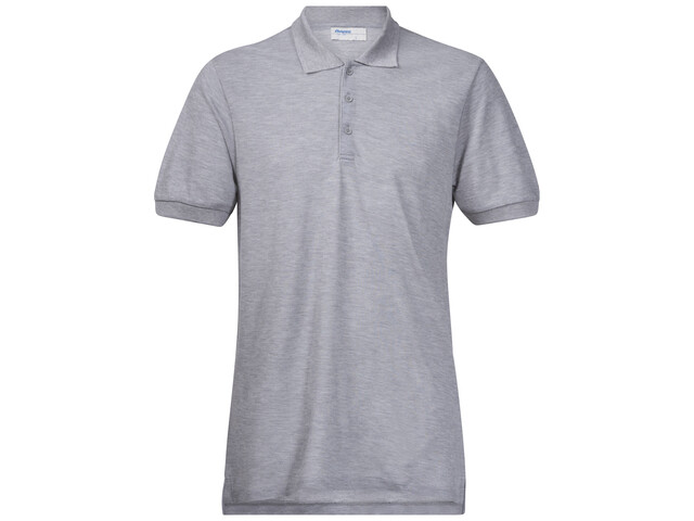 Bergans M's Valmue PiquŨ Shirt Grey Melange